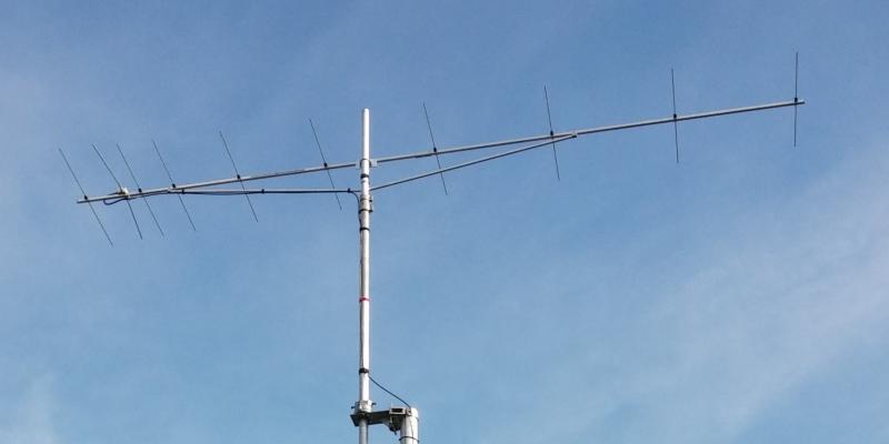 skeleton slot 14 mhz antenna